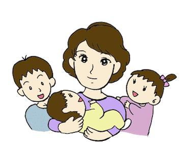3人の子持ちのNちゃん