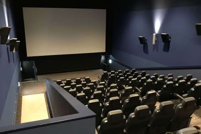 映画館の様子