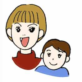 ママ友とその子供