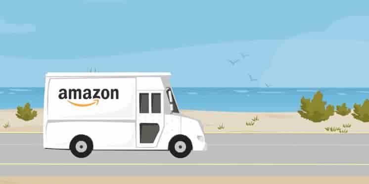 アマゾンからの運送