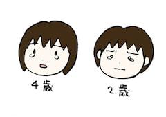 泣き顔の子供たち