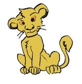 ライオンキング シンバの絵