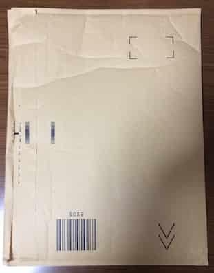 Amazon 梱包 封筒