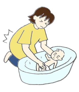 沐浴 腰痛い 産後