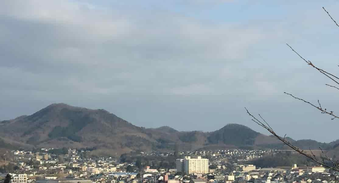 桐生ヶ丘動物園からの街並み