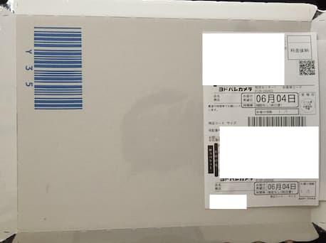 ヨドバシドットコムからちゃんとした厚紙に入って届きました